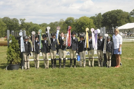 Horsemanship Group under 12